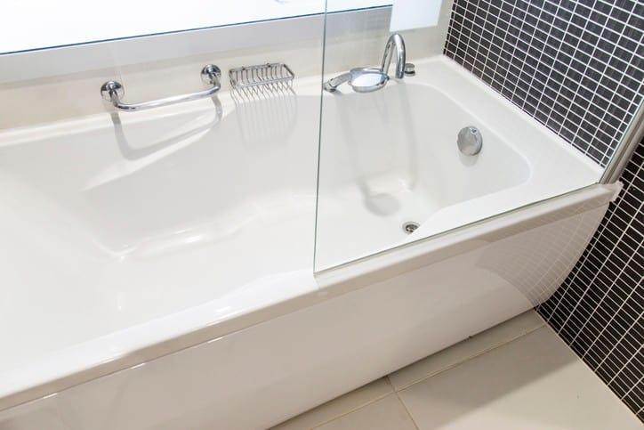 Surprise bathroom remodel