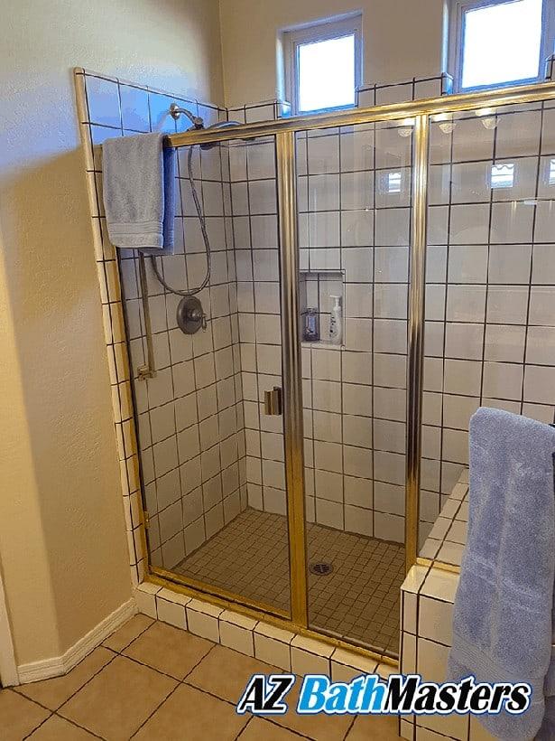 bathroom remodel in surprise before